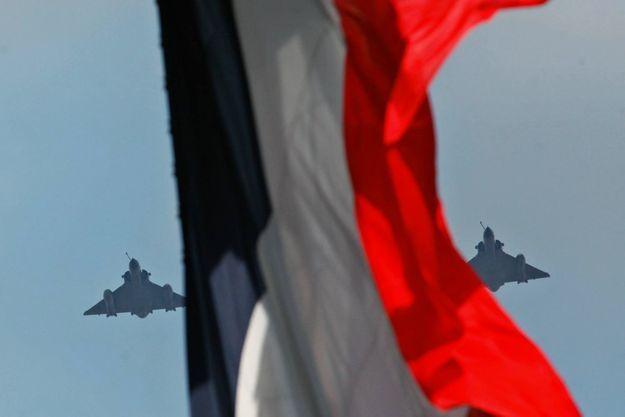 La France bombarde les positions de Daech depuis septembre 2014 (photo d'illustration prise le 14 juillet dernier).