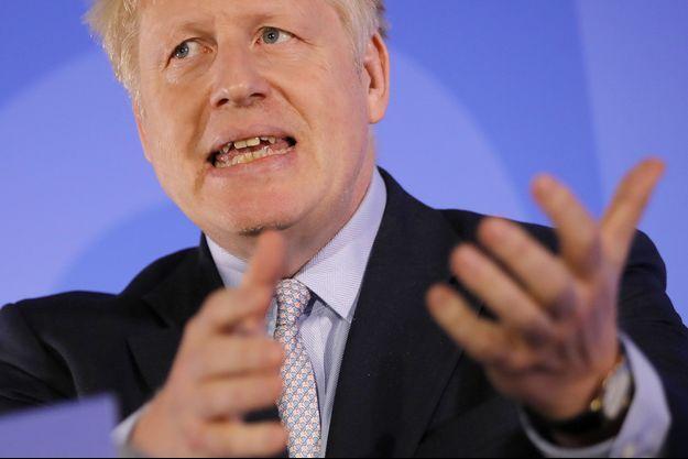 Boris Johnson à Londres, mercredi.