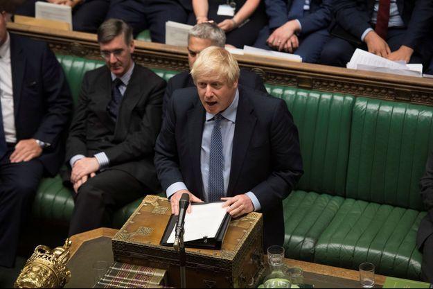 Boris Johnson à la Chambre des communes, le 4 septembre 2019.