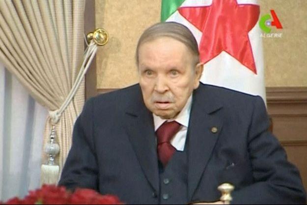 Abdelaziz Bouteflika, le 11 mars 2019.