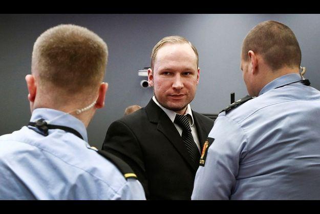 Anders Behring Breivik, lors de son procès.