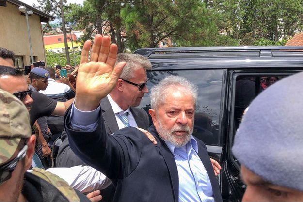 L'ancien président Lula, en mars dernier.