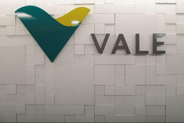 Le logo du géant minier Vale.