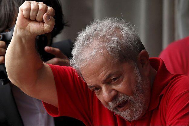 L'ex président brésilien Luiz Inacio Lula da Silva dit Lula.
