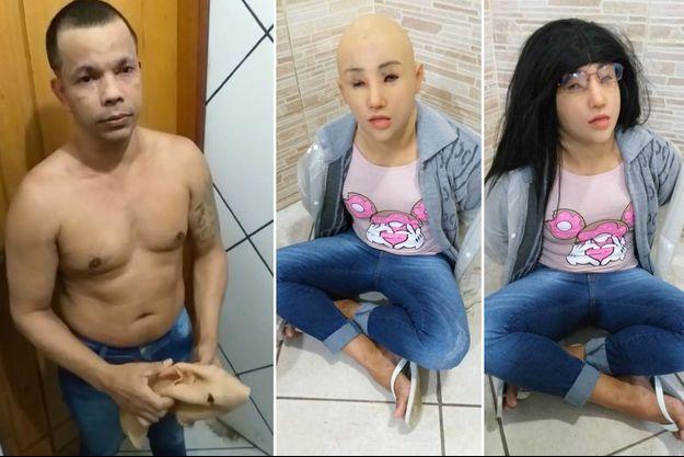 Clauvino da Silva avait tenté de s'échapper de prison déguisé en jeune femme avec les vêtements de sa fille.