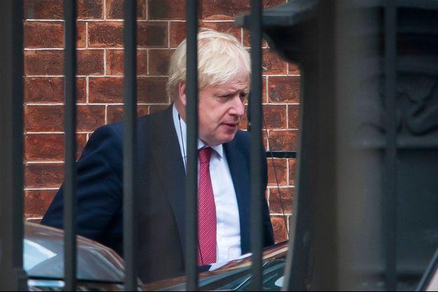 Boris Johnson mardi à Londres.