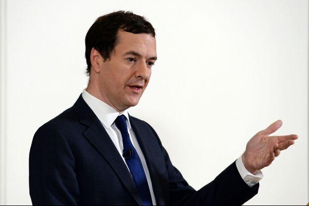 Le ministre britannique des Finances, George Osborne.