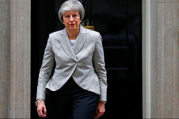 Theresa May à Londres, le 22 novembre 2018.