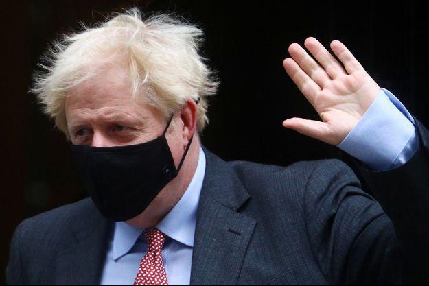 Boris Johnson, le 30 septembre 2020.