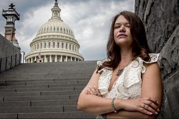 Brittany Kaiser à Washington en juillet dernier.