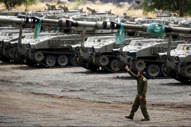 Des soldats israéliens déployés sur le plateau du Golan (image d'illustration).