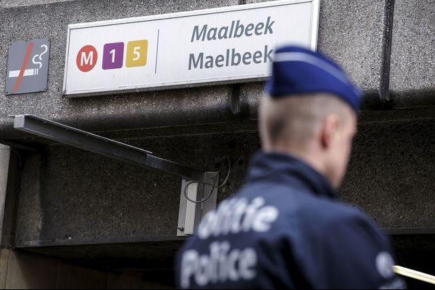 La station de métro où a eu lieu l'une des attaques