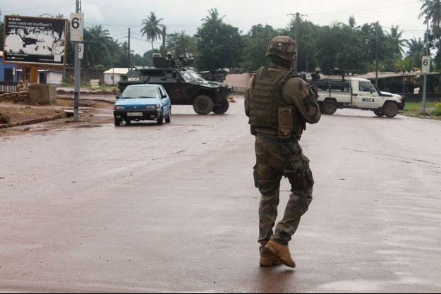 Illustration soldat français en Centrafrique.
