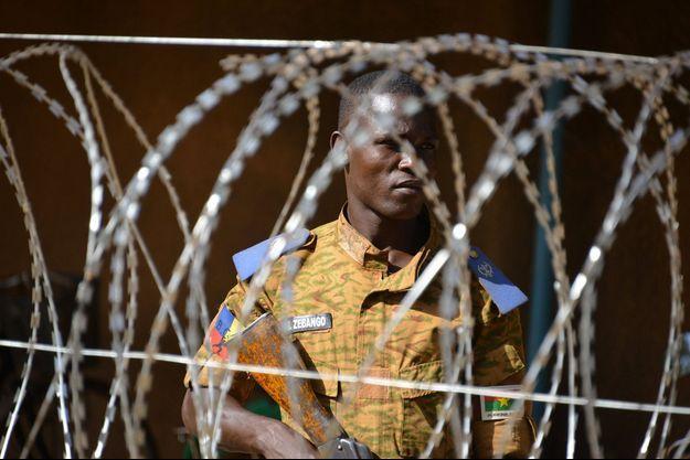 Un représentant de l'ordre au Burkina Faso.