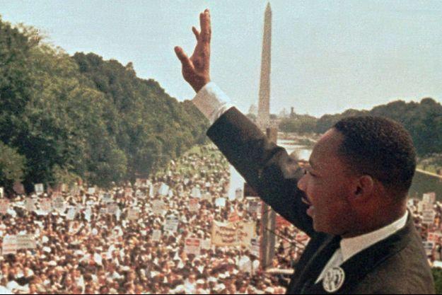Le 28 août 1963 lors de la marche civique à Washington.