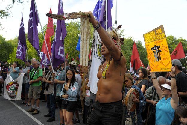 Des peuples autochtones canadiens des Premières Nations.