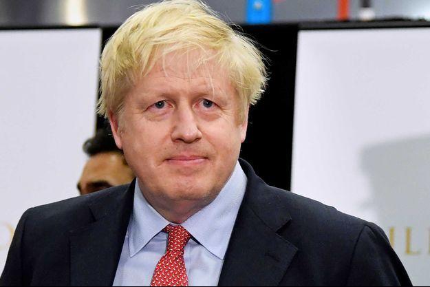 Boris Johnson, le 13 décembre, à Uxbridge.