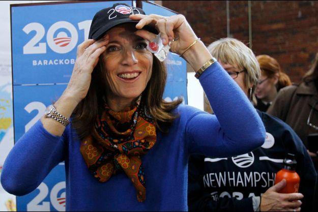 En 2012 comme en 2008, Caroline Kennedy s'est engagée dans la campagne d'Obama.