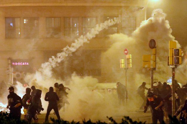 Les manifestations en Catalogne