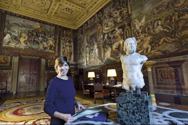 Catherine Colonna au palais Farnèse.