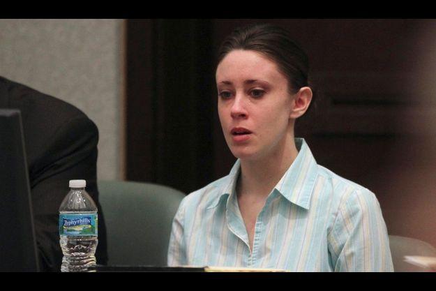 Casey Anthony lors de son procès, le 27 mai dernier.