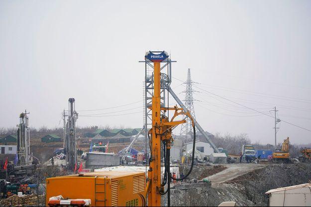 Une explosion s'est produite dans la mine de Qixia, dans la province de Shandong, en Chine.