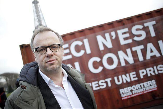 Christophe Deloire, le secrétaire général de Reporters sans frontières.