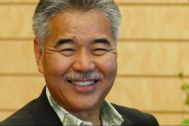 David Ige, gouverneur d'Hawaï, en juin 2015.