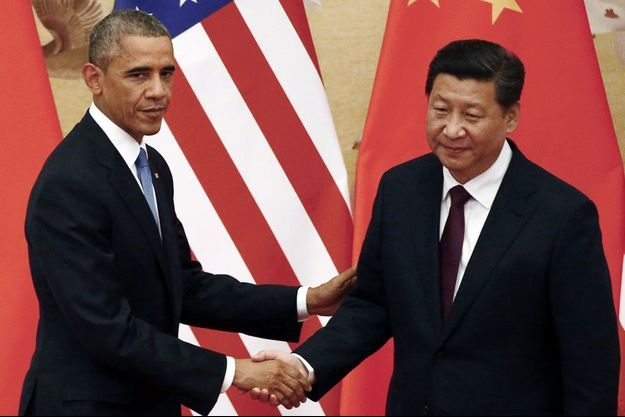 Barack Obama et Xi Jinping, mercredi, à Pékin.