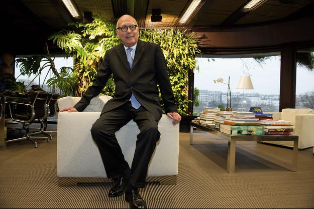 Stéphane Martin dans son bureau du musée du Quai-Branly-Jacques Chirac à Paris, jeudi 21 décembre.