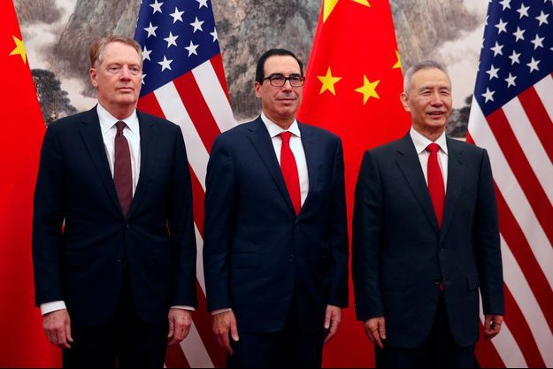 Robert Lightizer, Steven Mnuchin, Liu He