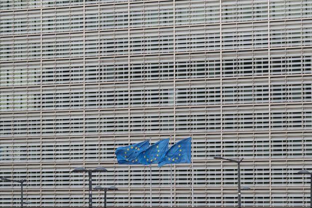 Le siège de la Commission européenne à Bruxelles, le 17 octobre.
