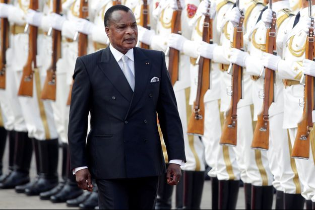 Le 5 juillet 2016, Denis Sassou Nguesso en visite officielle en Chine, l'un des trois pays non afraicins à avoir envoyé un ministre pour la cérémonie d'investiture avec la Turquie et la Russie