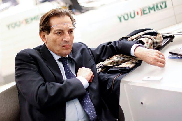 Rosario Crocetta est le président de la région Sicile en lutte contre le crime organisé.
