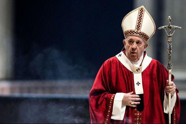 Le pape François le 29 juin, au Vatican.