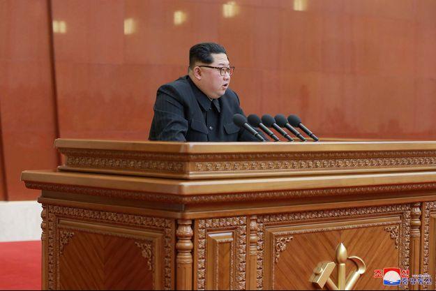Kim Jong-un a prononcé un discours historique.