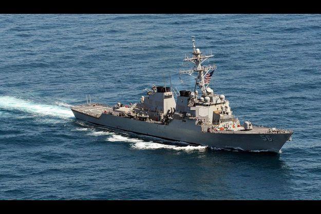 Deux destroyers sont déployés au large de la péninsule coréenne, dans un but préventif.