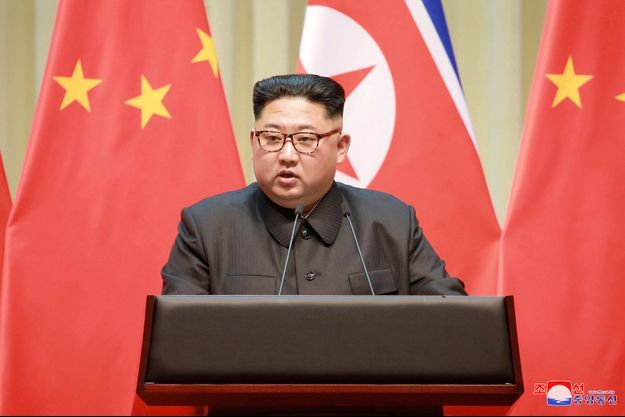 Kim Jong Un en mai 2018.