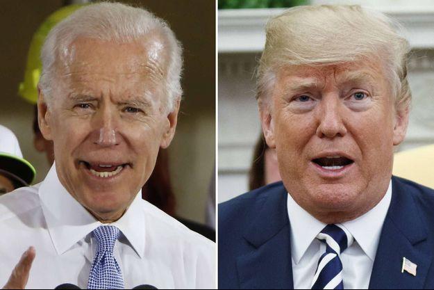 Joe Biden et Donald Trump ont parlé de l'épidémie de Covid-19 aux États-Unis.