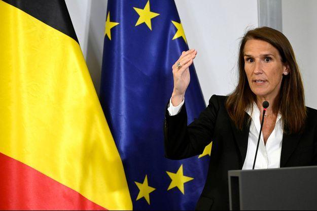 La Première ministre belge Sophie Wilmès.