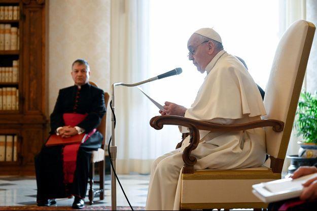 Le pape François mercredi au Vatican.