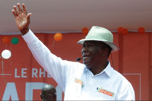 Alassane Ouattara le 22 août 2020.