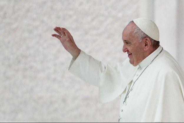 Le pape François le 21 octobre.