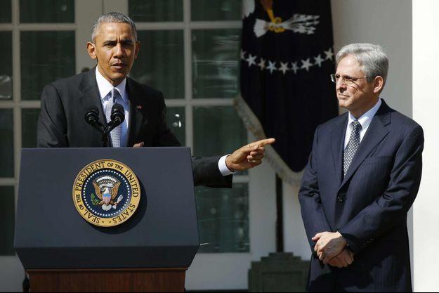 Barack Obama a annoncé mercredi la nomination de Merrick Garland, un progressiste modéré, à la Cour suprême.