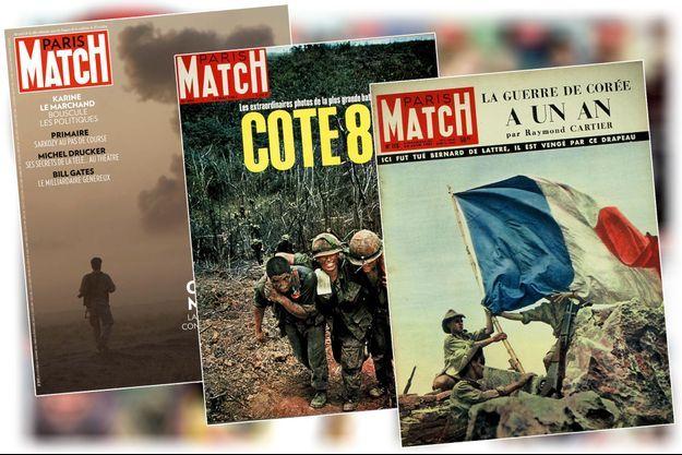 couverture match guerre