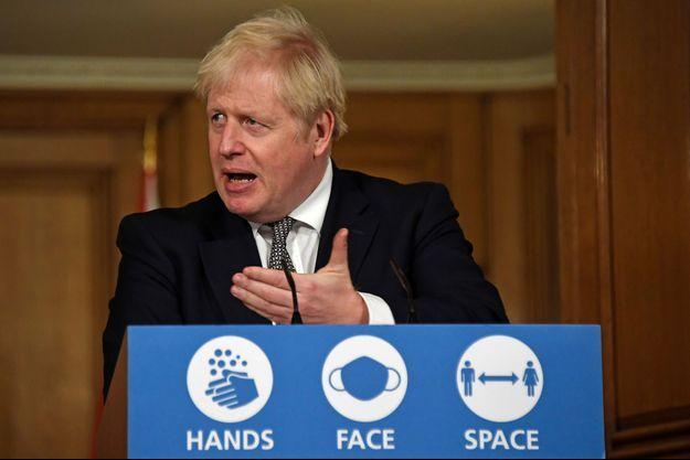 Le Premier ministre britannique Boris Johnson le 31 octobre 2020.