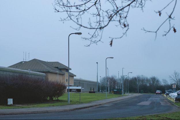 Elmley, un des trois centres pénitentiaires de l'île de Sheppey, près de Londres.