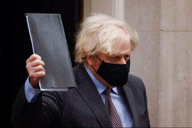 Le Premier ministre britannique Boris Johnson lundi à Londres.