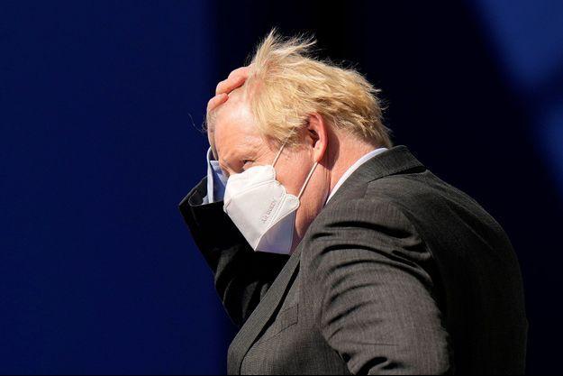 Boris Johnson lundi à Bruxelles.