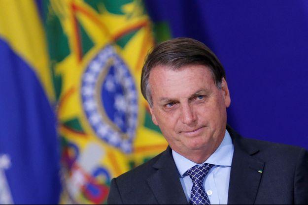 Jair Bolsonaro en novembre 2020.